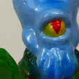 Max Toy Mini Kaiju Series Alien Xam painted figure