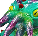 Kaiju TriPus (2.0) New version 1st painted edition Pre Order
