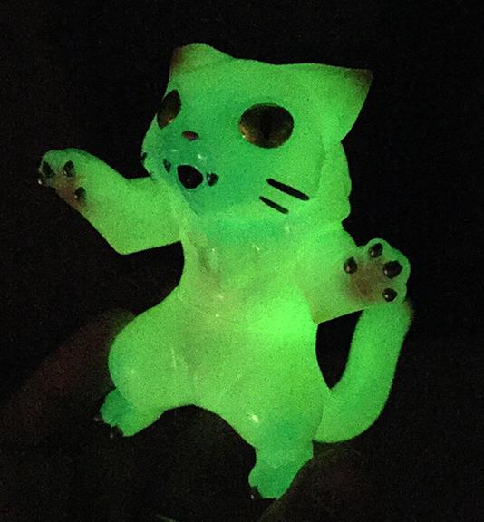 Cat kaiju nyagira glow in dark max toy company - Glow in the dark swimming pool toys ...