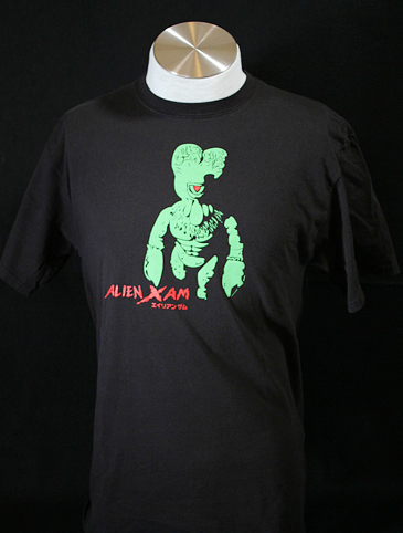 Alien Xam Black Tee shirt - Small Size
