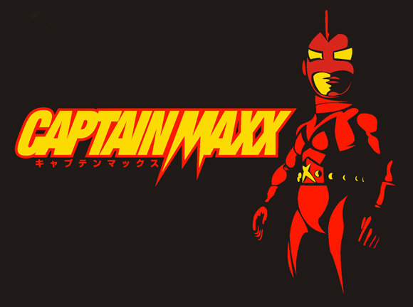Captain Maxx Black Tee shirt - Small Size