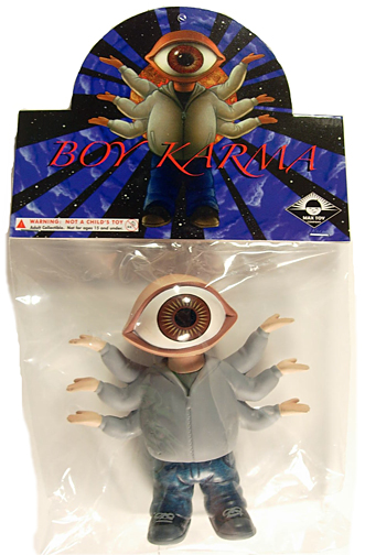 Boy Karma soft vinyl figure Max Toy Co Original figure