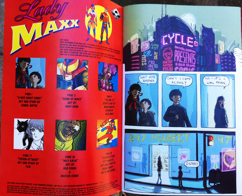 Lady Maxx Comic Book issue 1