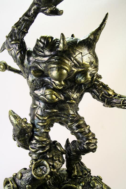 Sculpted Fantasy Kaiju Eyezon Mark Nagata