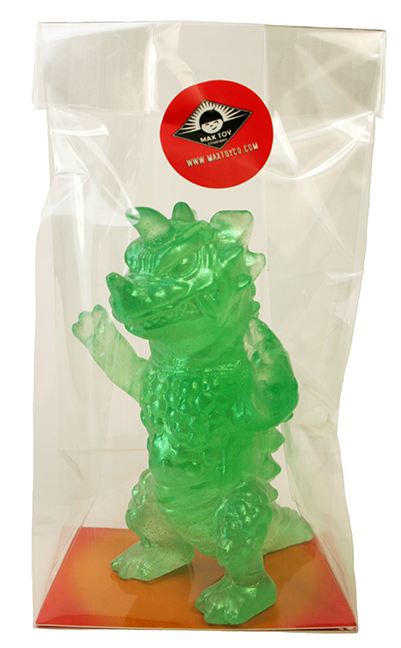 Kaiju Soap Drazoran green version
