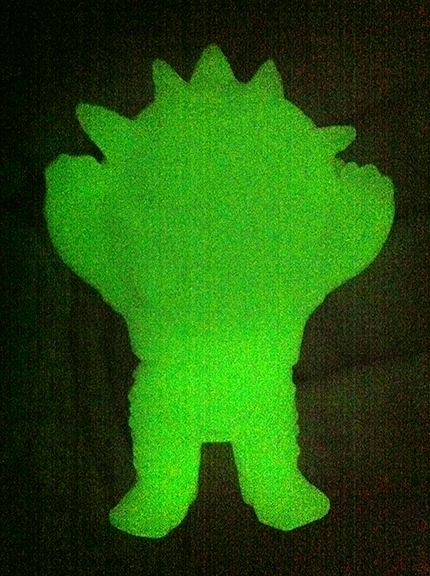 Micro Kaiju Eyezon Glow in Dark vinyl