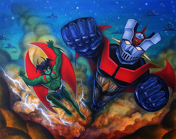 Devilman Mazinger Z original Mark Nagata