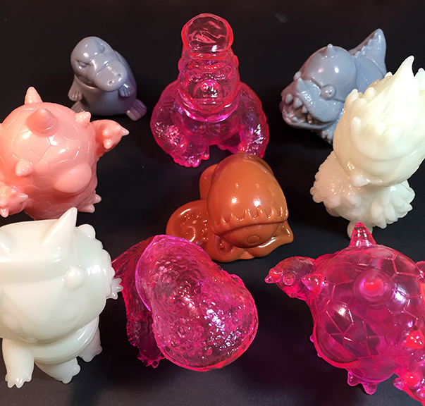 Gacha Maxx series 1 gachapon kaiju monsters