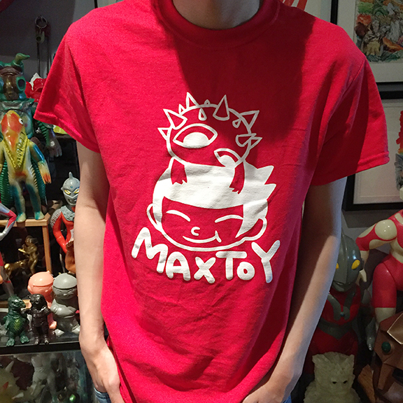 Max Toy Eyezon T shirt Red medium size