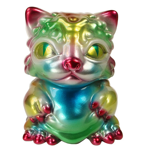 Chubz the Cat Metallic rainbow Jay222 x Mark Nagata
