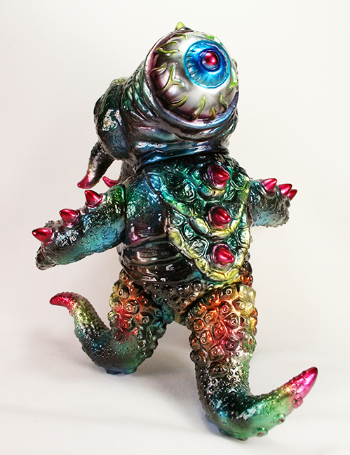 Custom Metallic painted Kaiju TriPus by Mark Nagata One Off