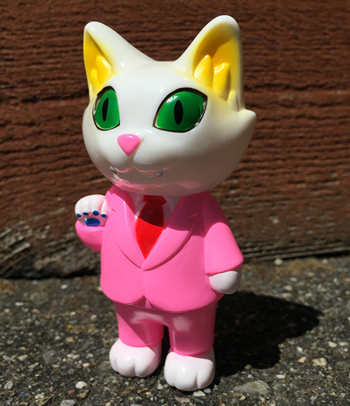 Office Cat Pink Suit colorway