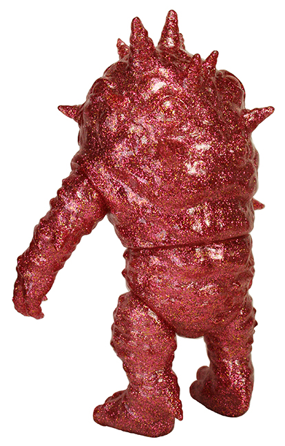 Kaiju Eyezon Clear Red Glitter sofubi version