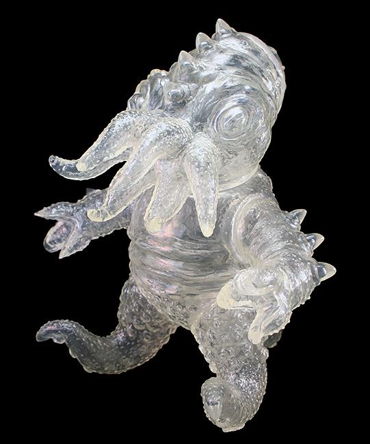 Kaiju TriPus (2.0) Clear Sofubi unpainted
