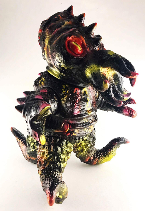 Nebula Kaiju TriPus customs painted by Michael Devera / Obsessed Panda