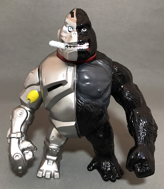CrusherG first factory painted edition Mecha Ape