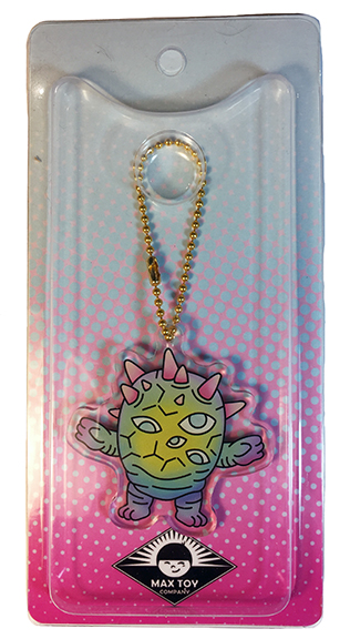Kaiju Eyeozn Green version Acrylic Keychain
