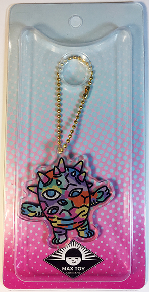 Kaiju Eyezon Multi colored version Acrylic Keychain