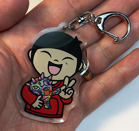 Max Boy Acrylic Keychain