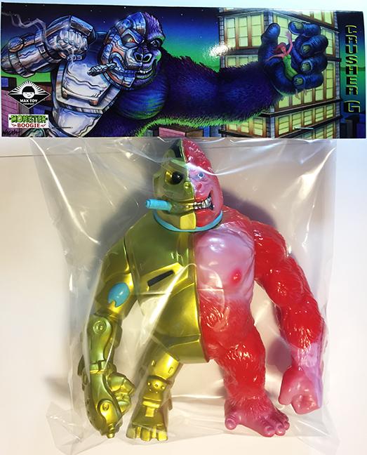 Crusher G Mecha Kaiju Ape Angry RED STGCC