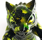 Kaiju Negora Cat Northern Lights by Michael Devera