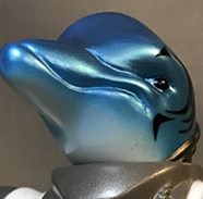 Galaxy Patrol Dolphin version painted