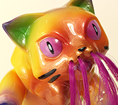 Cat Kaiju Nyagira Mechavirus custom Hair 2
