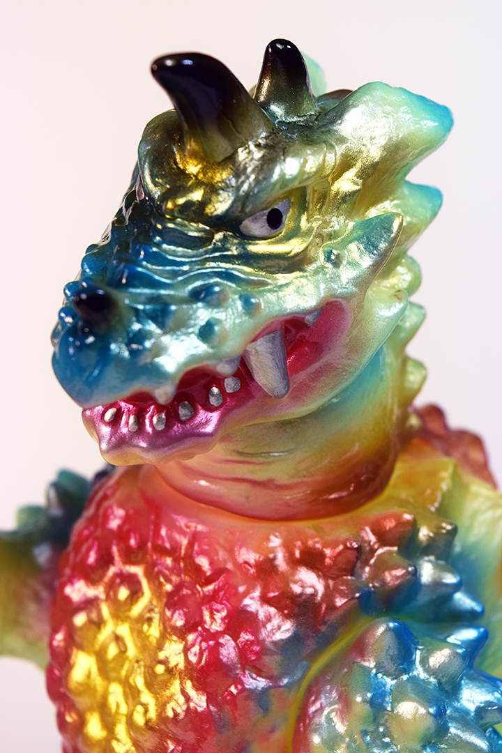 Kaiju Drazoran Dcon edition painted by Mark Nagata