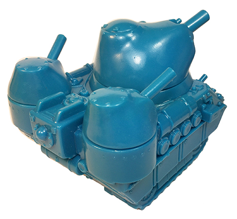 Kaiju Tank Sky Blue Max Toy - Monster Boogie