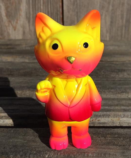 Custom Office Cat Neon Mark Nagata  gold nose
