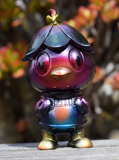 Javier Jimenez cute Kappa custom Violet version painted by Mark Nagata