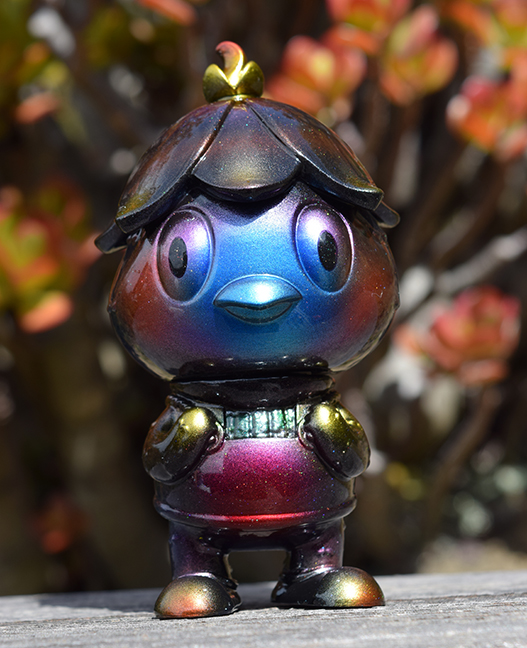 Javier Jimenez cute Kappa custom Blue version painted by Mark Nagata