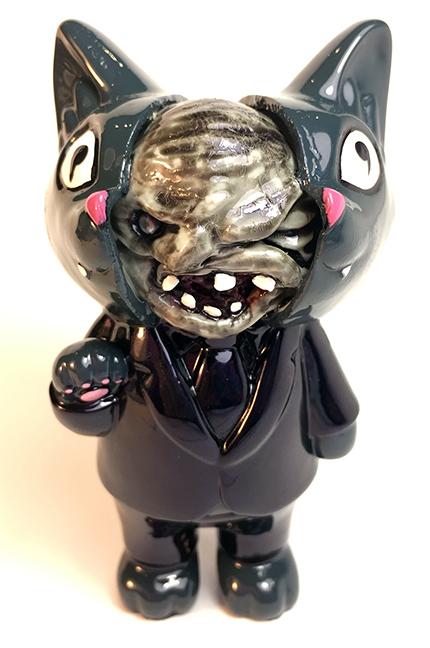 Jay222 X Max Toy Split Head Office Cat mash up custom