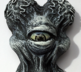 Alien Xam resin head custom Mark Nagata Black and White