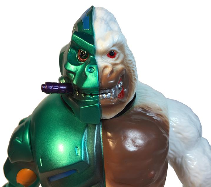 Crusher G Mecha Ape Green metal version