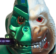 Crusher G Mecha Ape Green metal version