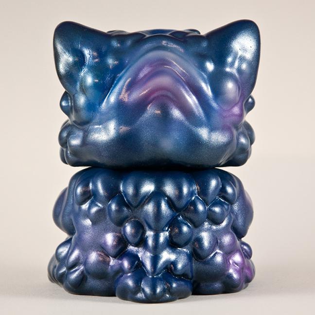 Chubz the Cat show Magitarius Steel Blue Chubz