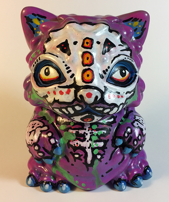 Chubz the Cat show Zombie Nick DiFabbio custom