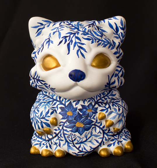Chubz the Cat show Floris Cat Cristina Ravenna custom
