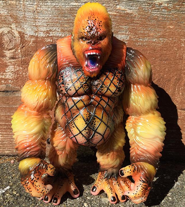 Goliathon Ape Predator style custom Mark Nagata Glow in Dark