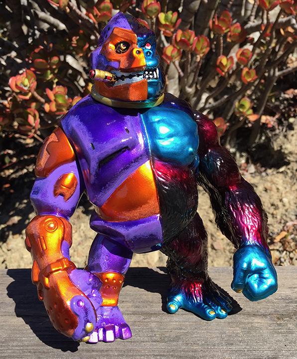 Custom Painted Crusher G ape James Osborne artist