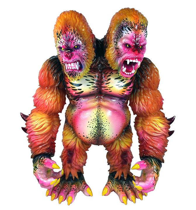 Death Goliathon Double Headed Ape Planet X Asia Nagata paints