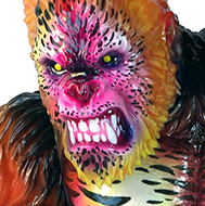Death Goliathon Double Headed Ape Planet X Asia Nagata paints