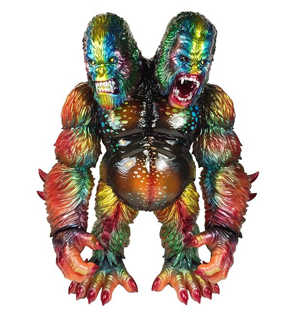 Metal Death Goliathon Double Headed Ape Planet X Asia Nagata paints