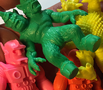 Planet X Asia Keshi blind bagged figures Kaiju Mecha