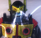 Planet X Asia Mecha Kaiju Goliathon mini sized Black / Gold