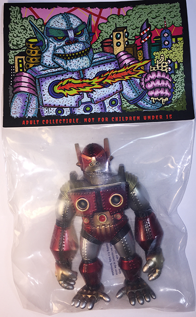 Planet X Asia Mecha Kaiju Goliathon mini sized Red/Silver