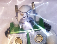 Planet X Asia Mecha Kaiju Goliathon mini sized White/Green