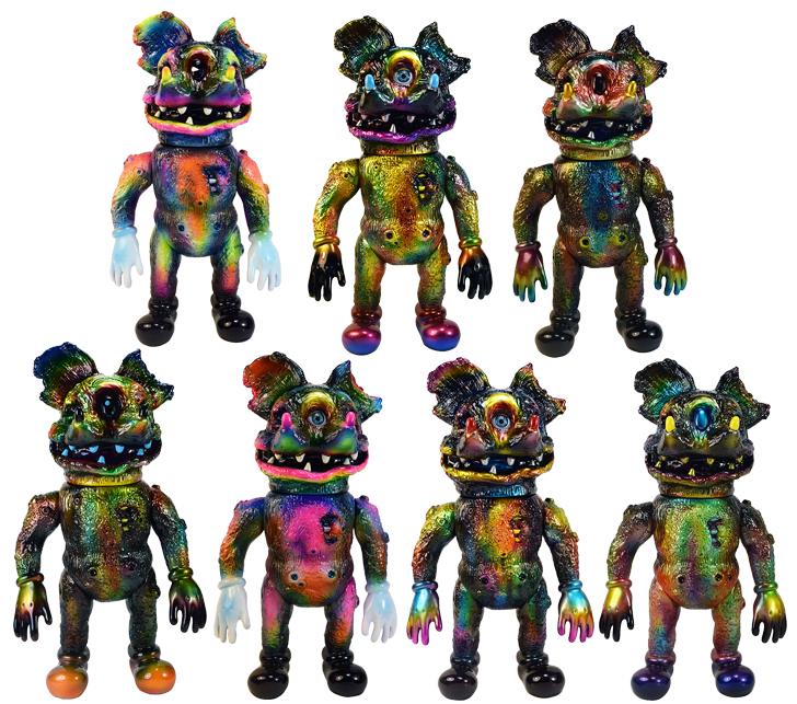 Diemouse Kaiju x Mark Nagata custom micro run Horror mice