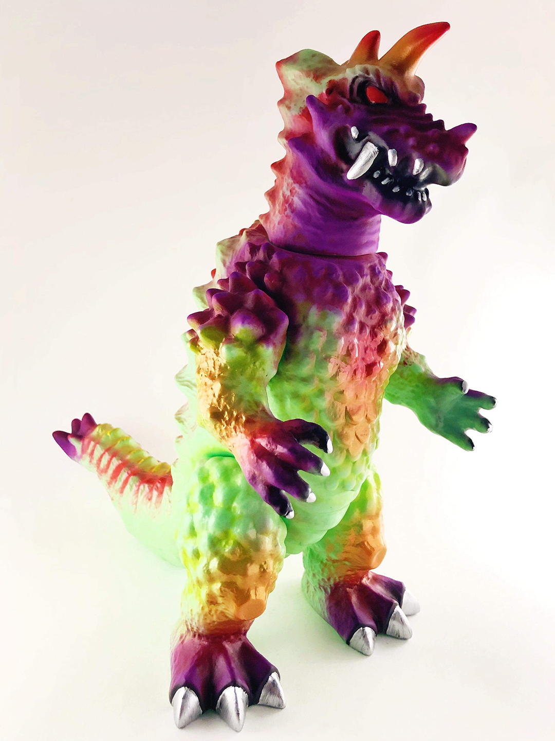 Custom painted kaiju Drazoran Michael Devera micro edition